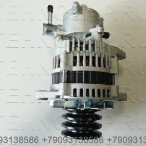 Генератор Isuzu NQR71/75 4НК1 24V/50А с помпой 8973515720