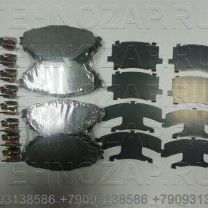 Колодки тормозные дисковые 8 шт на 1 ось Fuso Canter TF Е/5