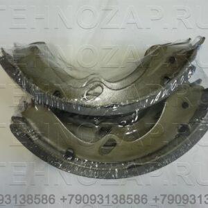 Колодки тормозные барабанные 4 шт на 1 ось 75мм NMR85 Isuzu TW 5871001690